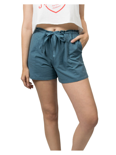Evan Organic Cotton Shorts - Indigo