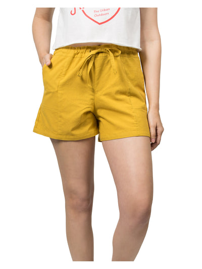 Evan Organic Cotton Shorts - Mustard