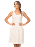 Moxie Organic Cotton Dress - Cloud