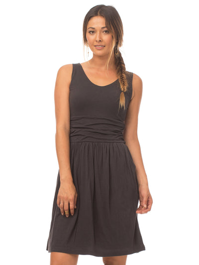 Moxie Organic Cotton Dress - Phantom