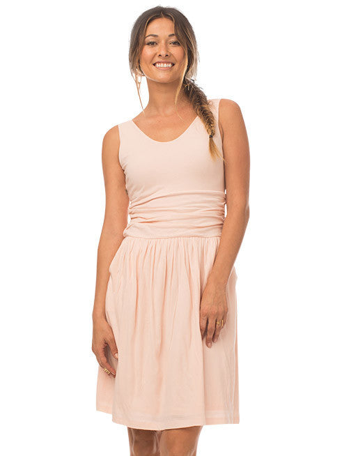 Moxie Organic Cotton Dress - Rose