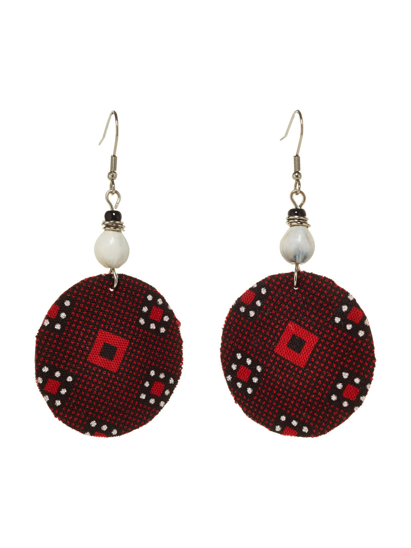 Captivate Earrings - Scarlet