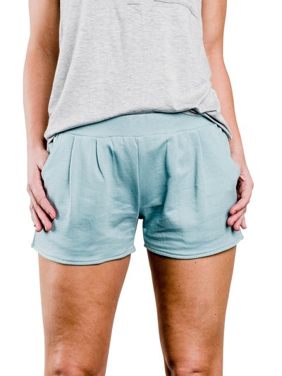 Grayson Organic Cotton Shorts - Teal