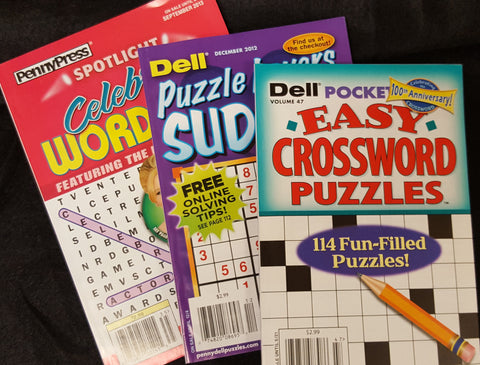 Three Puzzle Books