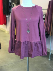 Super Soft Baby Doll Tunic