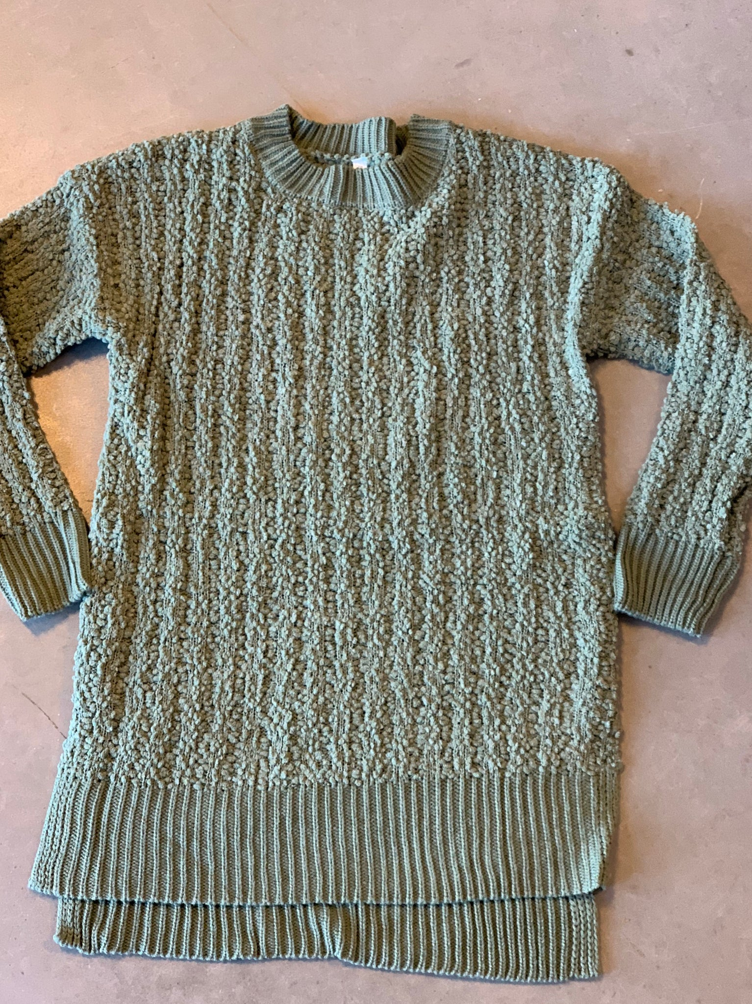 H-Lo Popcorn Sweater Plus