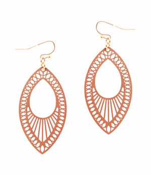 Open Cut Earrings