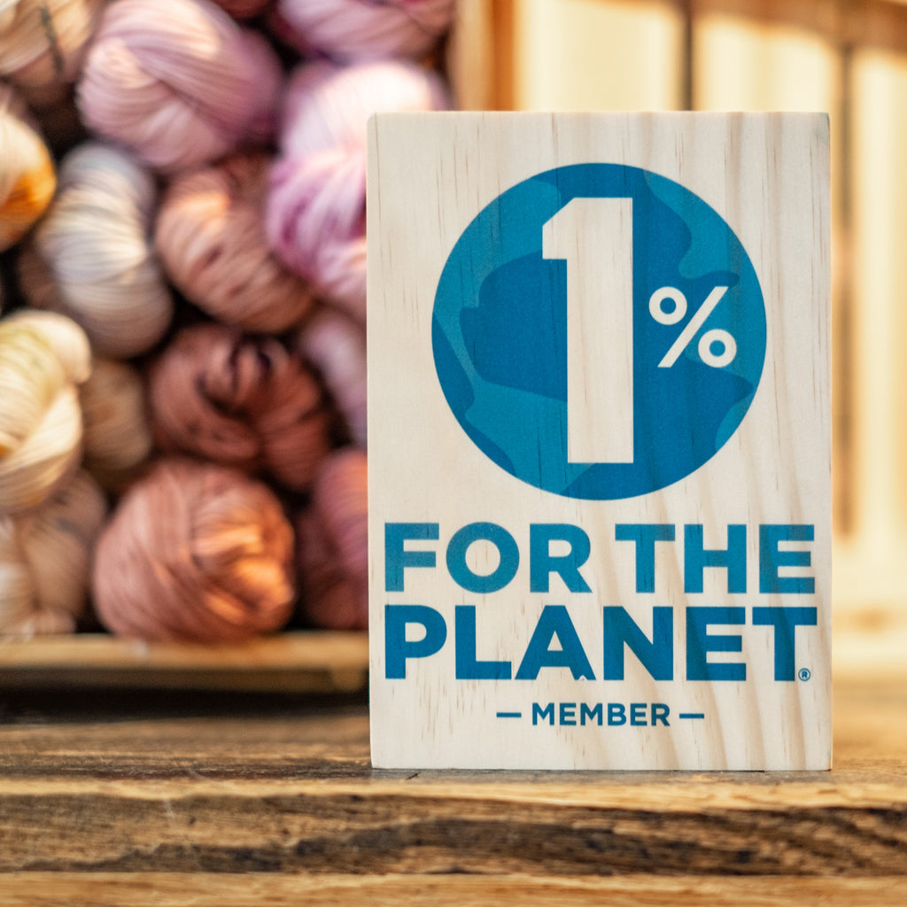 1% for the Planet - Supporting Environmental Non-Profits