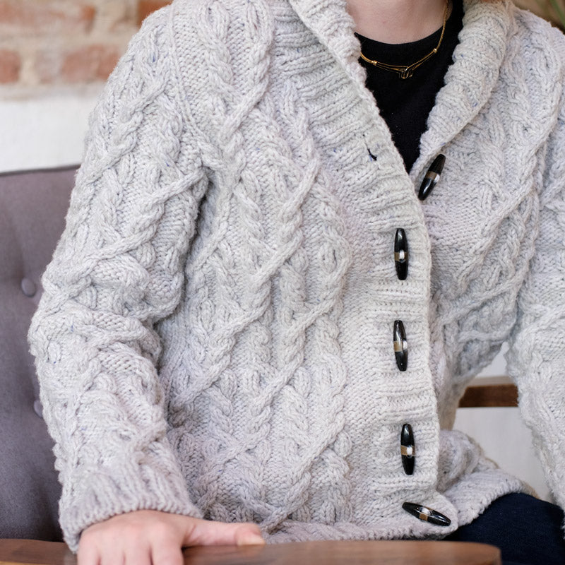 Lauren's BT Cable Quarry Cardigan