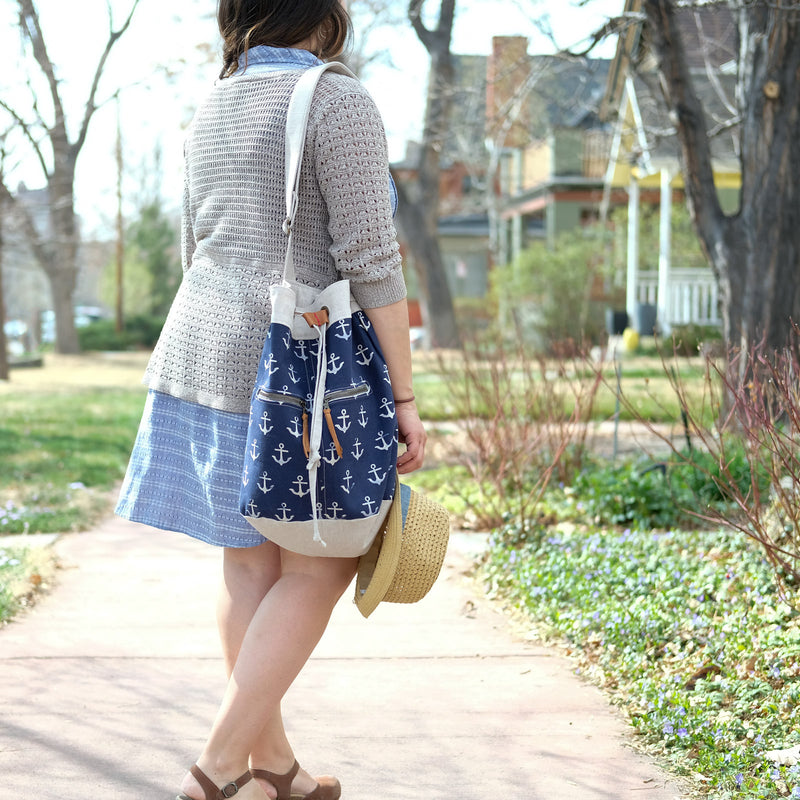 Tiffani's Beachy Bucket Bag