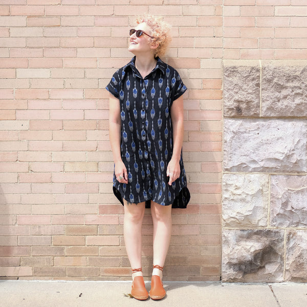 Allison's Ikat Kalle Shirtdress