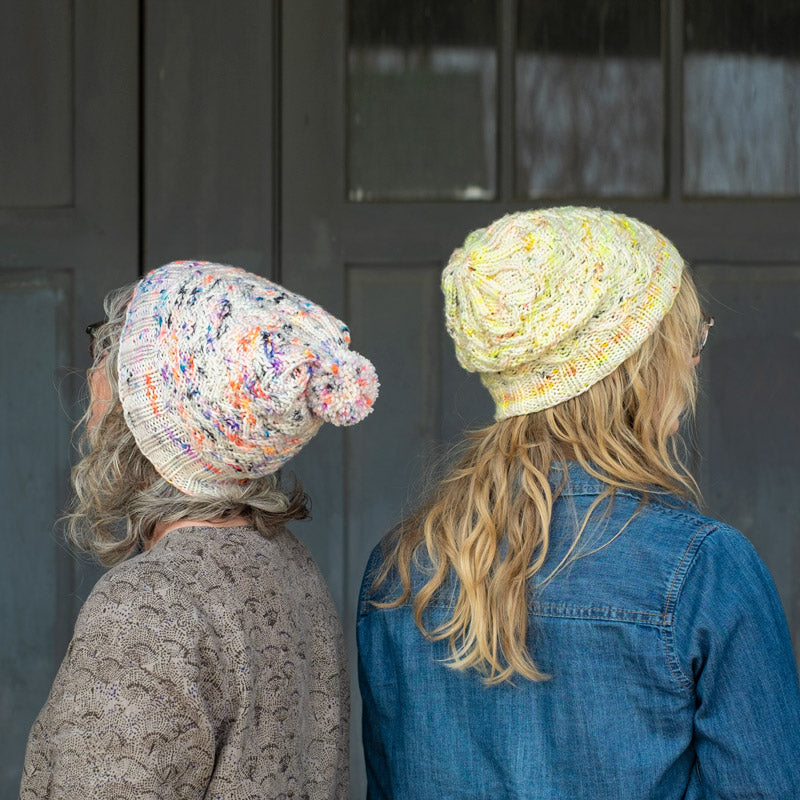 Amber & Jaime's Twinsie Cottage Hats