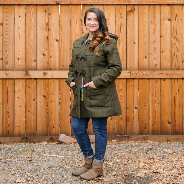 Tiffani's Cascade Duffle Coat