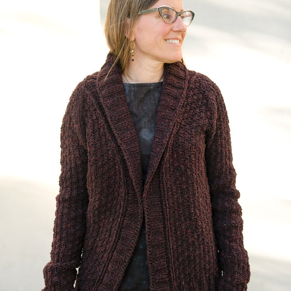 Sunne's Oxbow Cardigan + Workshop