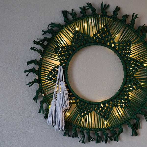 Be Good Wreath Tutorial