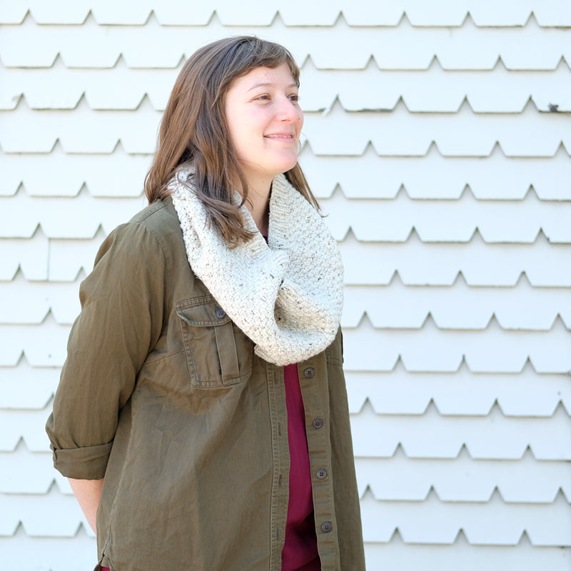 Lucy's Recycled Yarn Collective Cowl