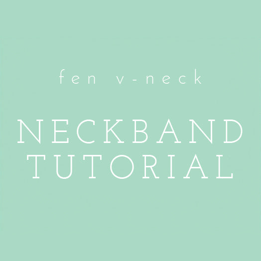 Video Tutorial: Fen V-Neck Tutorial