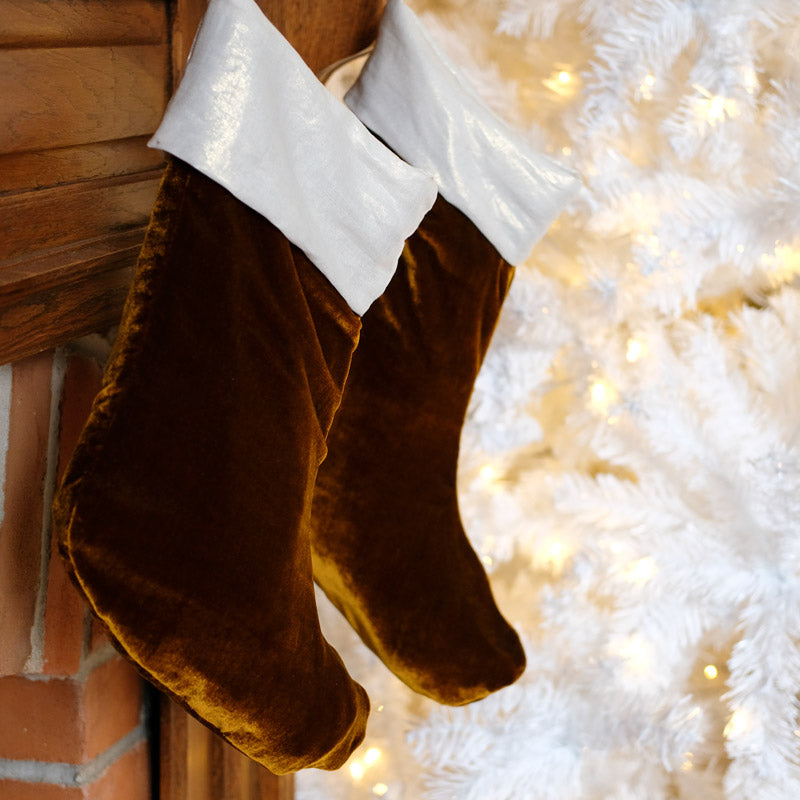 Fancy Holiday Stocking Tutorial