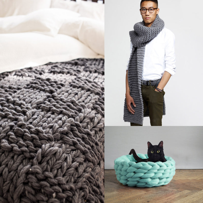 Craft Up A Trend: Chunky Knits