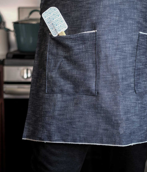 Selvedge Denim Apron Free Pattern