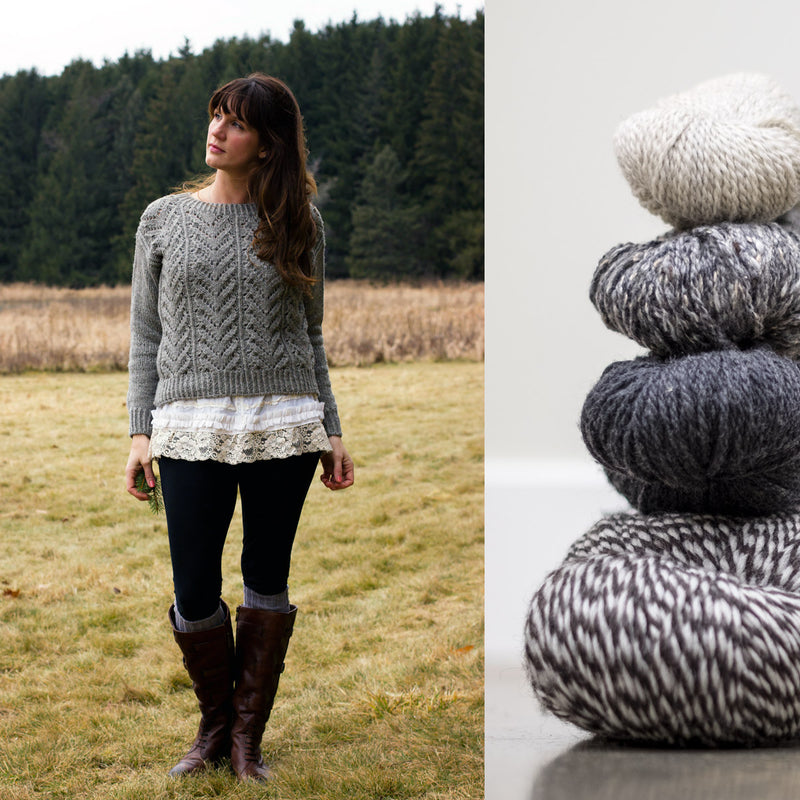 Wolf River KAL: A Cozy January Sweater Along