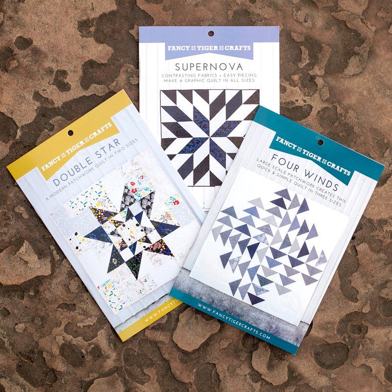 New Quilt Patterns from Fancy Tiger!