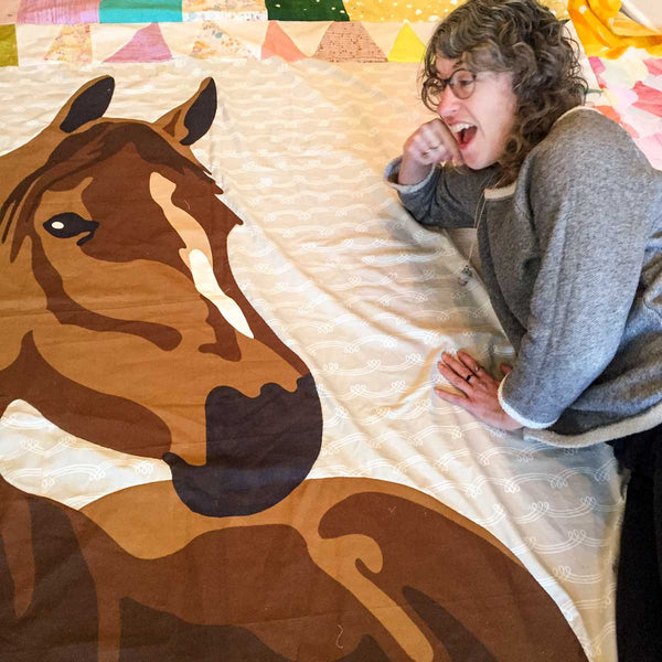 Fancy Horse Quilt Along Results!