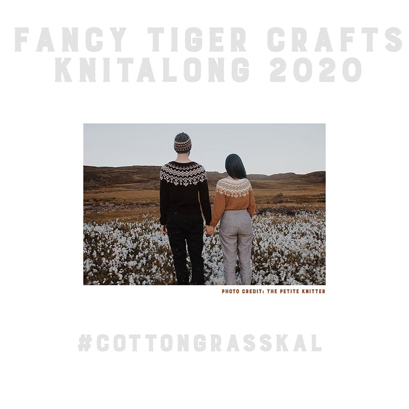 2020 Cottongrass Jumper Knitalong