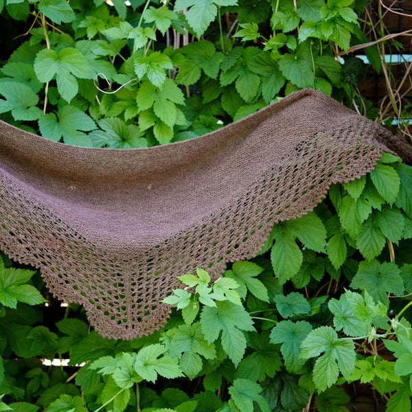 Wool Journey: Meadowsweet Shawl