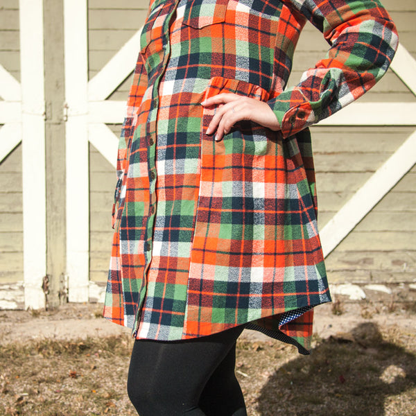 Kaylee's Alder + Archer Plaid-tastic Dress