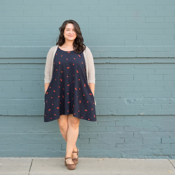 Tiffani's Rayon Trapeze Dress
