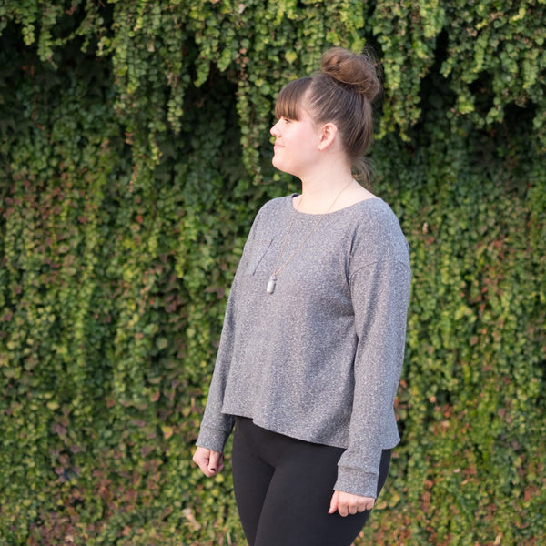 Sleeve Lengthening Tutorial: Wanderlust Tee