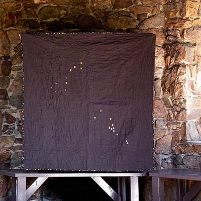 Marta's Wedding Constellation Quilt