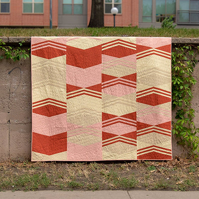 Modern Vibes Quilt Pattern for Quilt Sampler Magazine