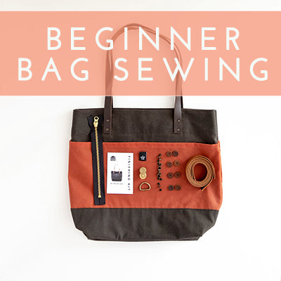 Beginner Bag Sewing: Patterns & Fabrics for Getting Started