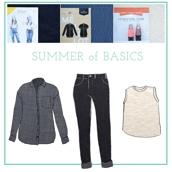 Jaime and Amber's Summer of Basics 2017