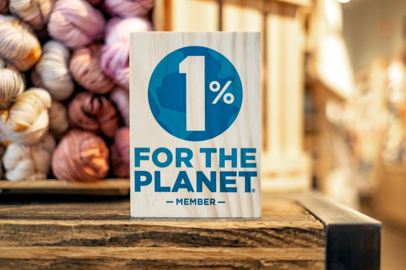 1% for the planet program plaque