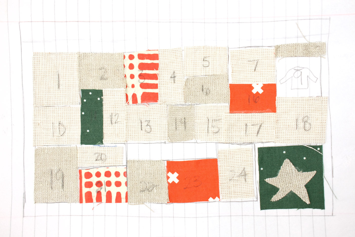 Color Mixing and Matching for the Fancy Advent Caendar