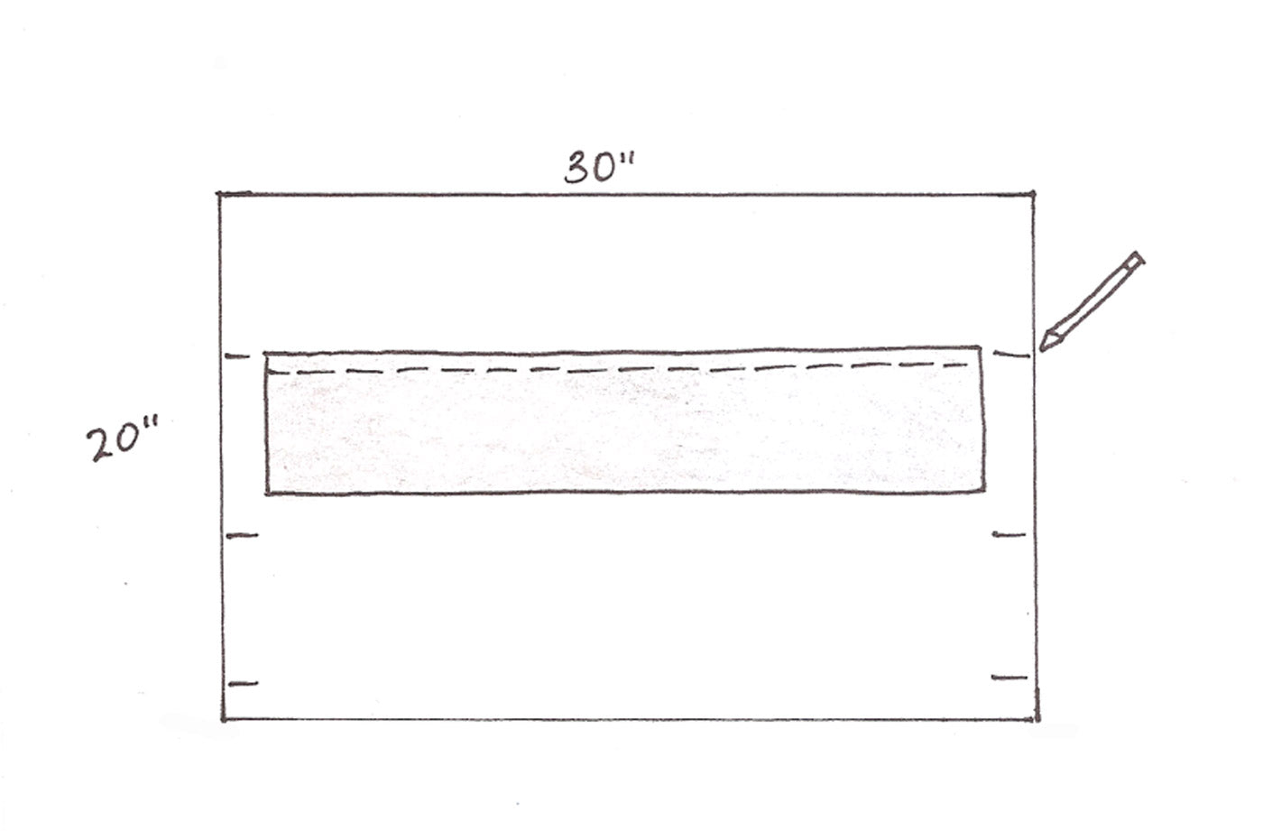Diagram for Attaching the Rows