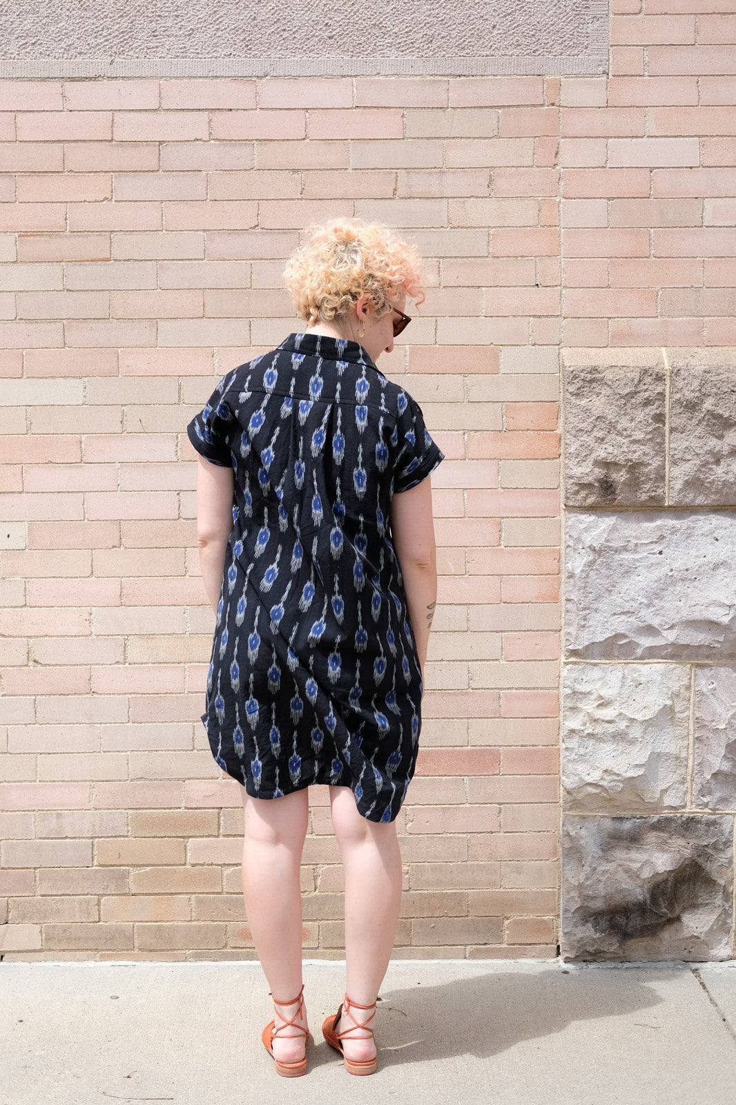 Backside of the Kalle Shirtdress