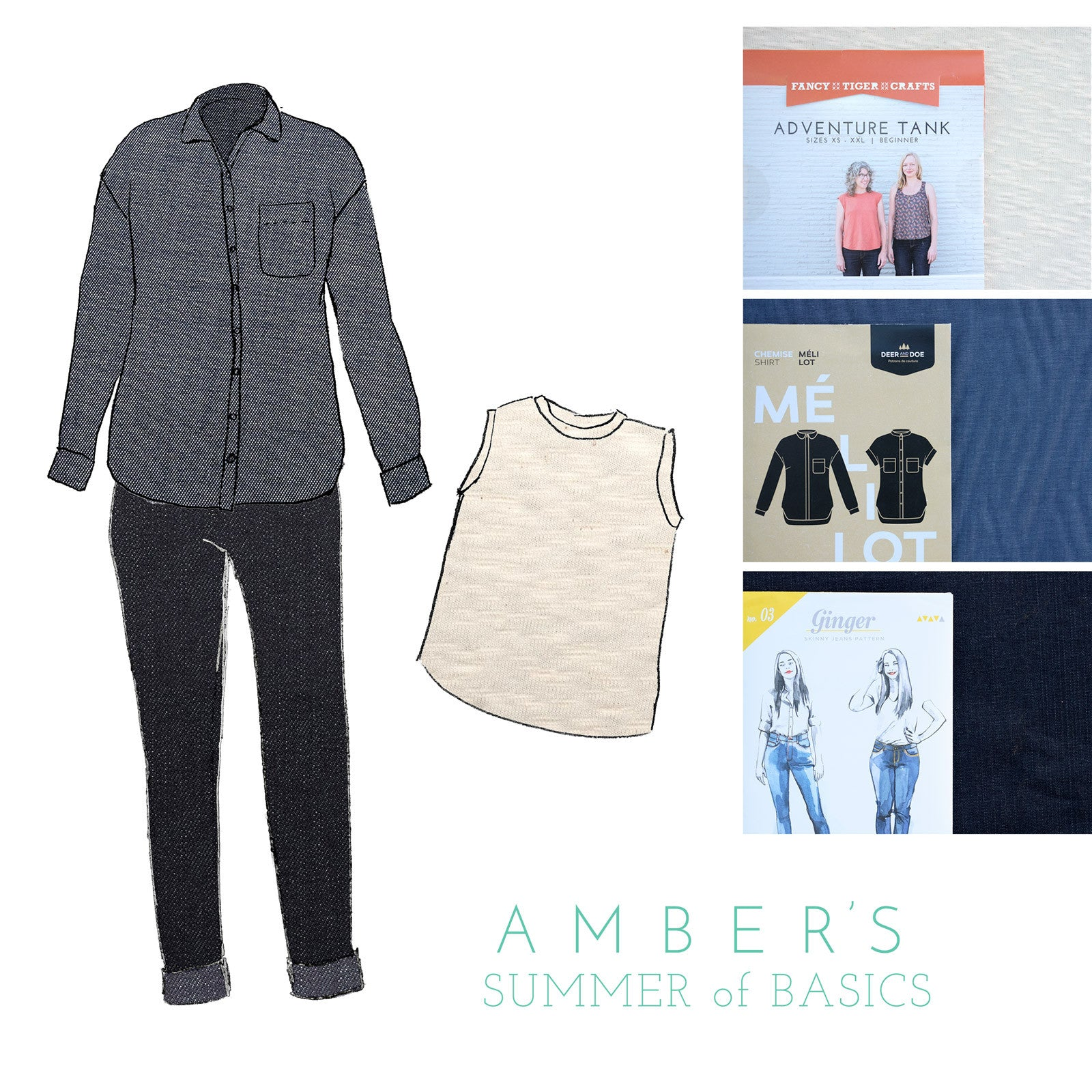 Amber's Summer of Basics 2017