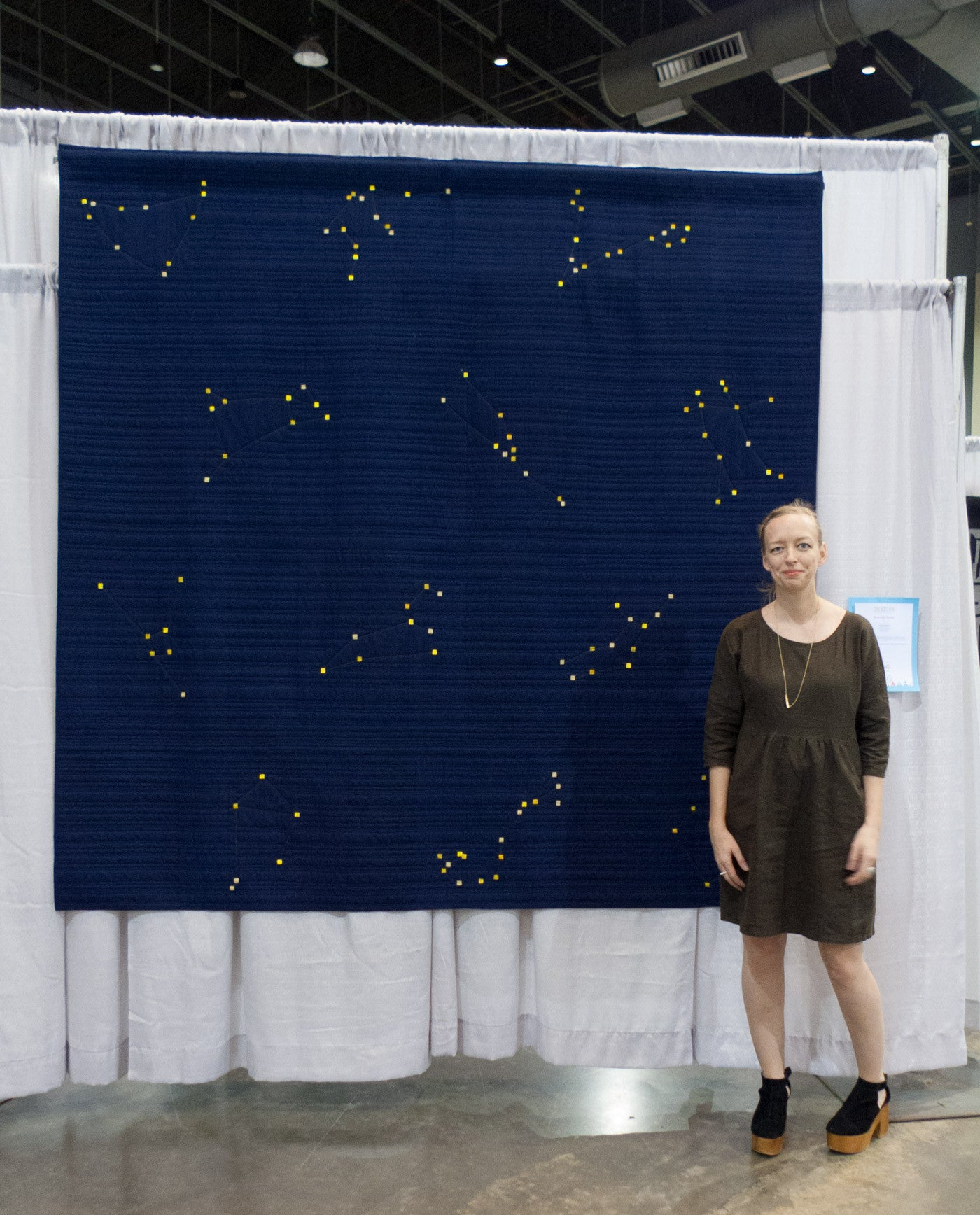 Amber's Quiltcon 2017 Constellation Quilt