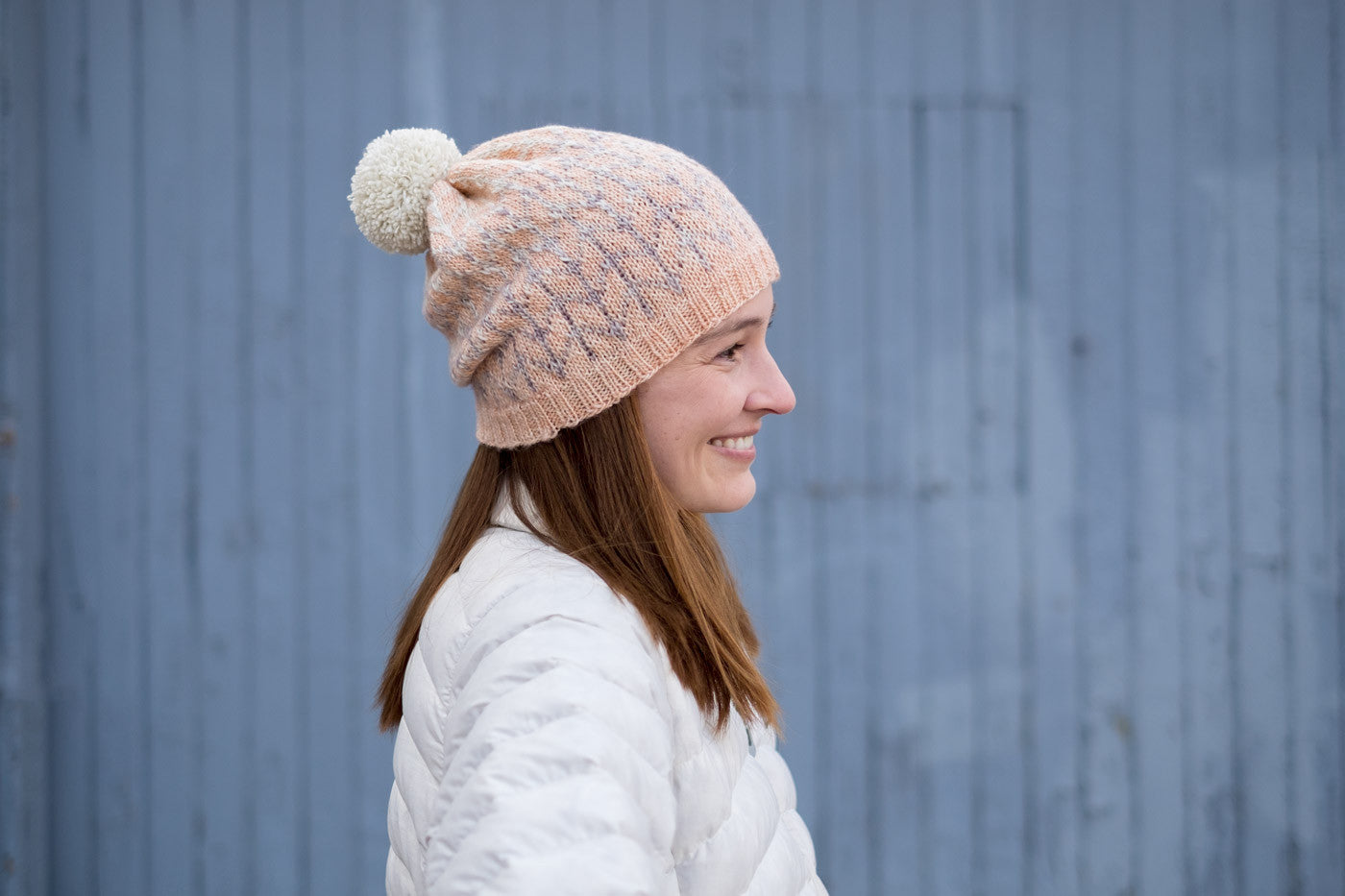 Barley Hat by Hilary Grant in Madelinetosh Light