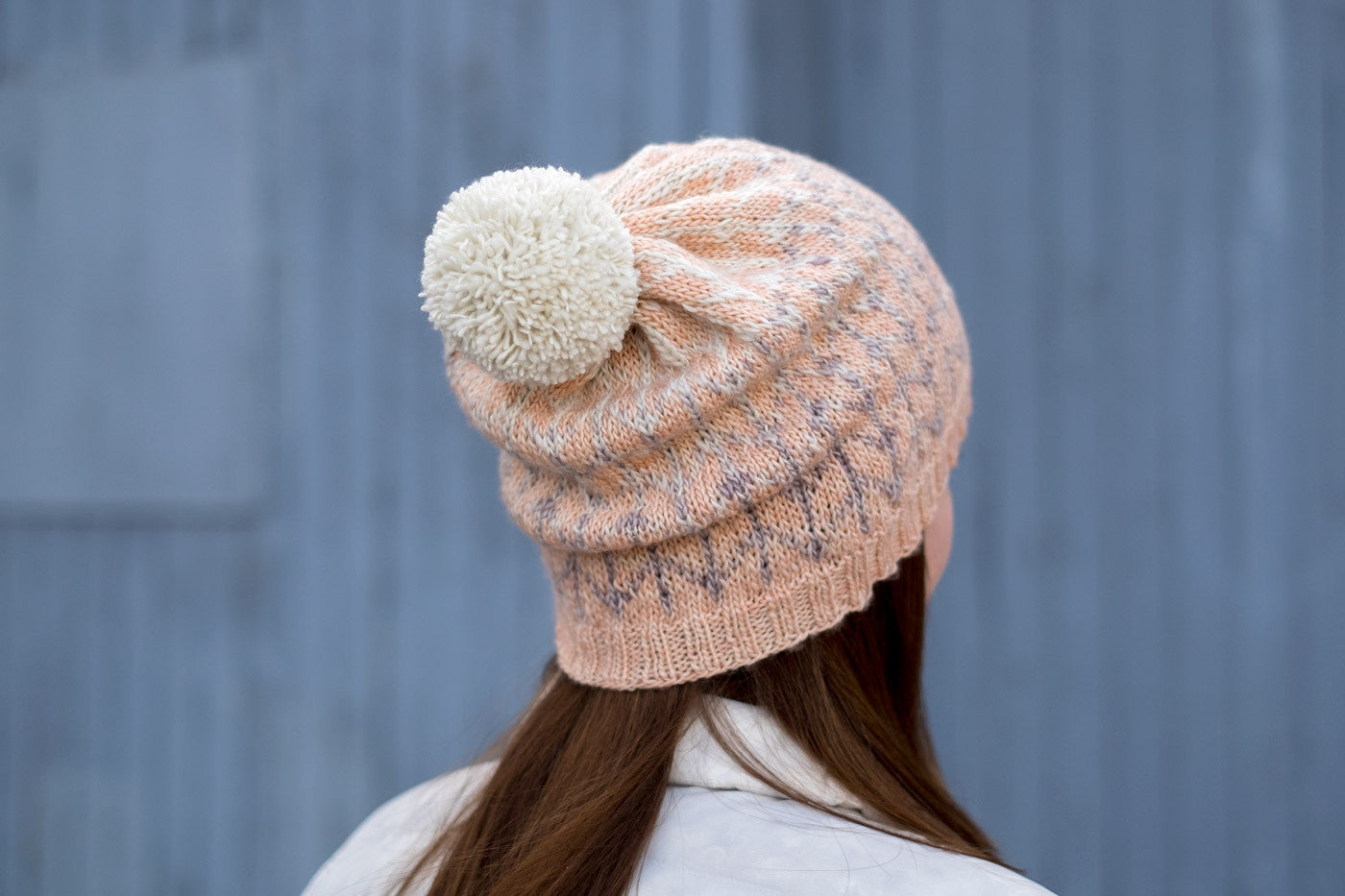 Slouchy Knitting from the North Barley Hat