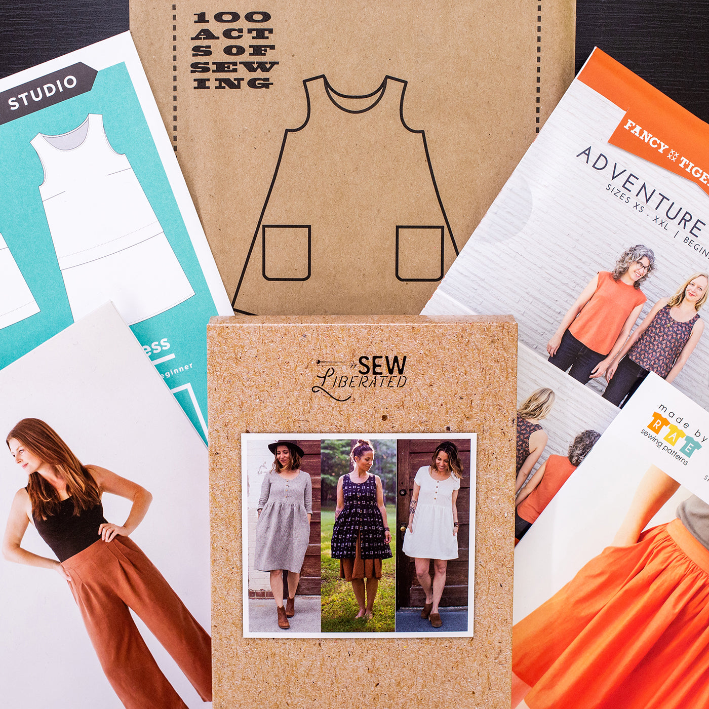 A collection of beginner friendly sewing patterns handpicked for summer