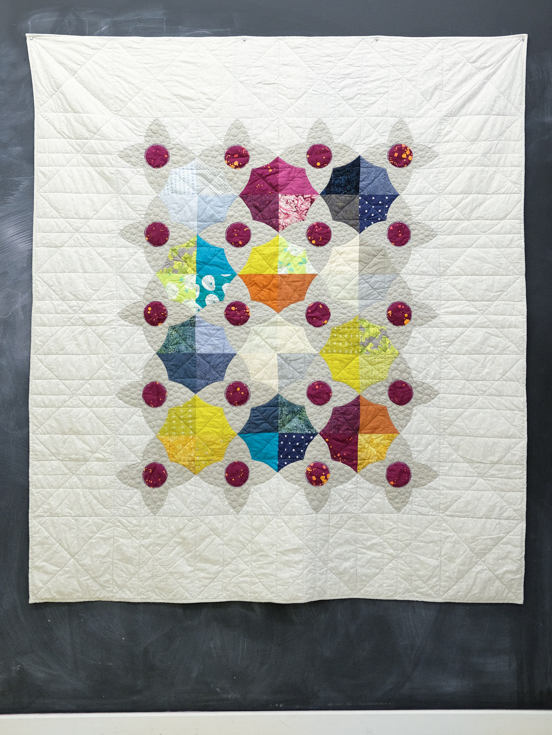 Bob's Lizzy House Meadow Quilt