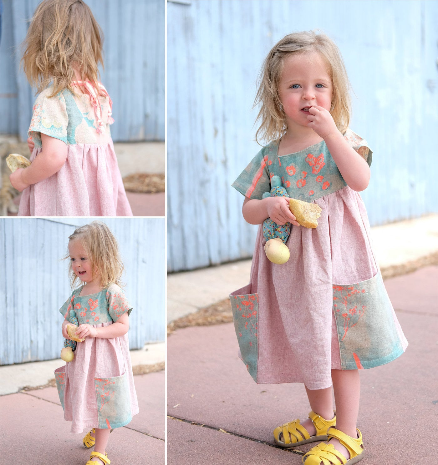 Very Shannon's Sally Dress in Nani Iro Brushed Cotton