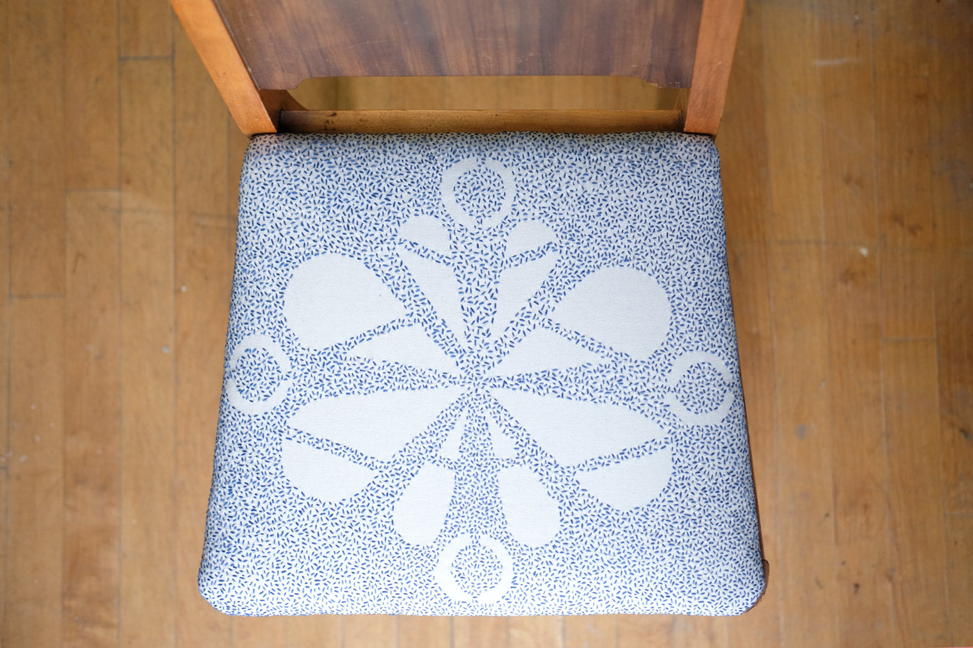 Sarah Case Embroidered Chair
