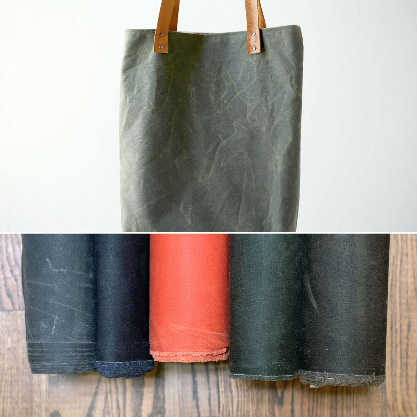 Fancy Tiger Crafts Waxed Canvas Tote