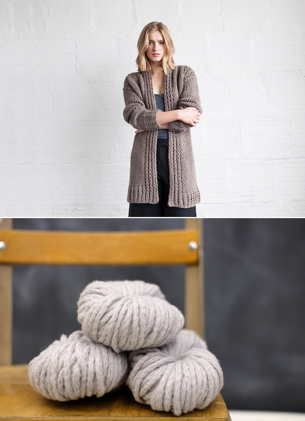 Kile Sweater in Woolfolk Hygge